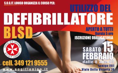 Corso BLSD Sabato 15 Febbraio 2020, Lonigo