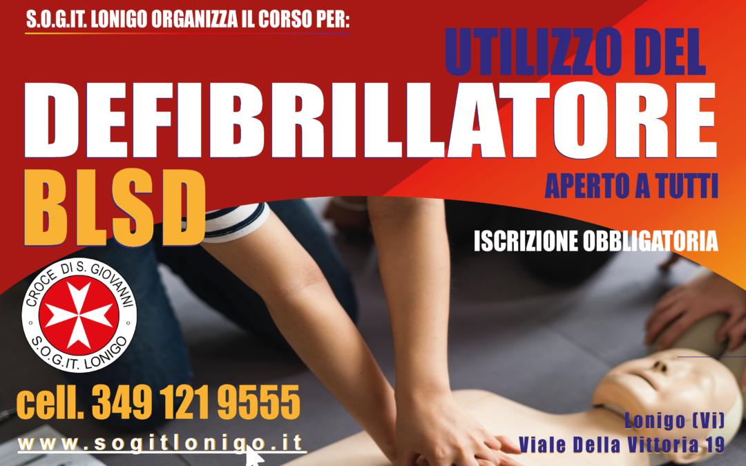Corso BLSD 27 Febbraio 2021 a Lonigo (Vi)